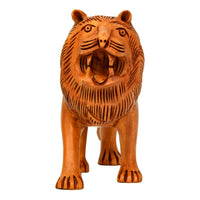 Wooden Carving Lion