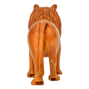 Wooden Carving Lion ragaarts.myshopify.com