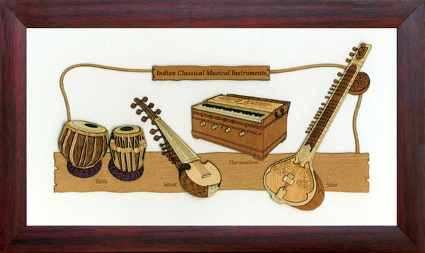 Wh 7X12 Indian Classical Music Instruments