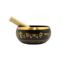 Brass Singing Bowl with Stick