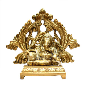 Ganesha Sitting On Base ragaarts.myshopify.com