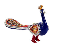 Walking Peacock with kundal work