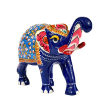 Elephant t/u metal painting