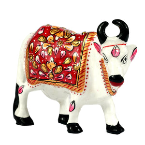 Cow With Metal painting