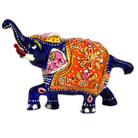 Metal Painted Elephant