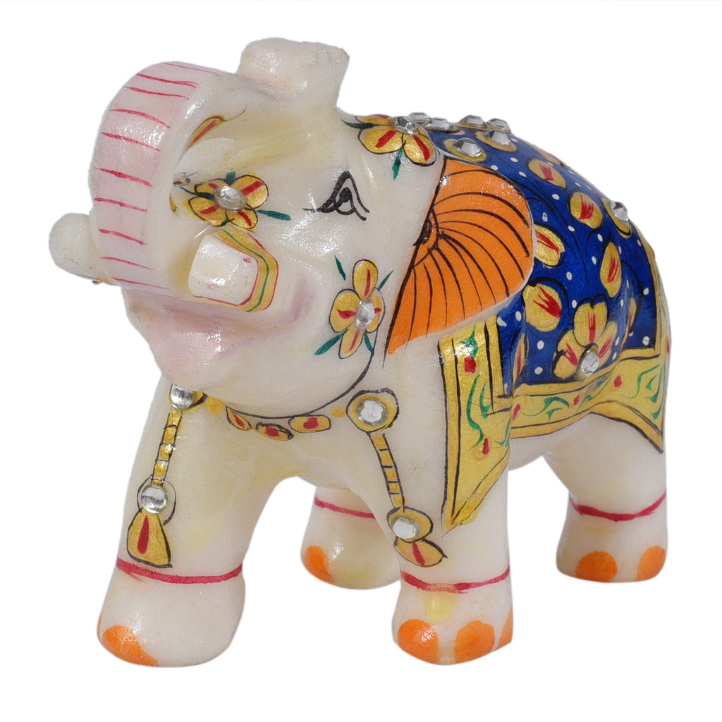 Elephant with Painting ragaarts.myshopify.com