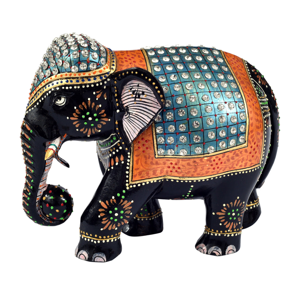 Elephant with stone work