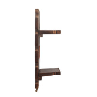 Wooden Wall Hanging Two Shelf