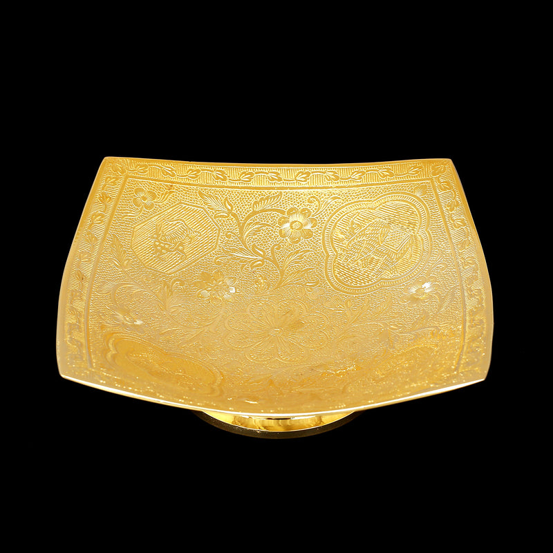 Brass Gold Plated Bowl