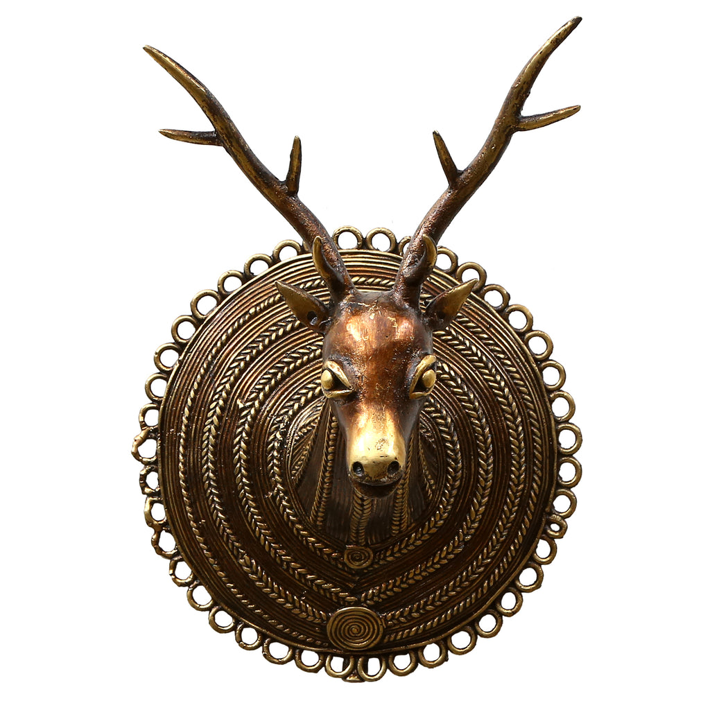 Bastar Wh Deer Head