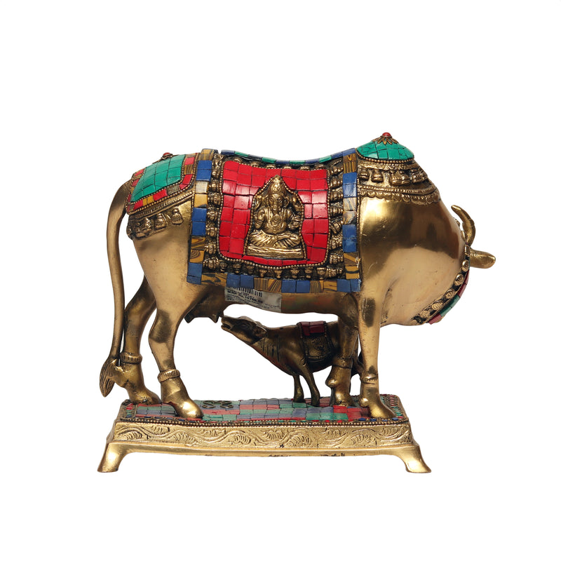 Decorative Cow & Calf