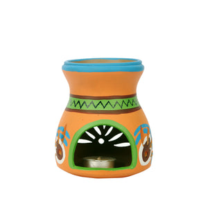 Terracotta Diffuser Combo Set With Painted