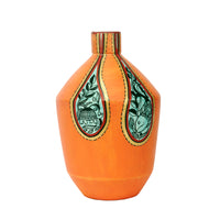 Terracotta Earthen Vase With Paint