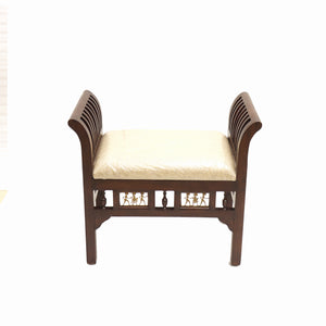 Wooden Single Seater With Cushion