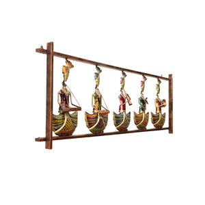 Iron Wall Hanging 5 Musical Sardar