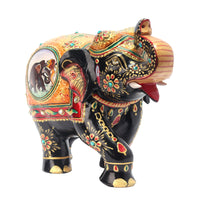 Wooden Elephant Painted