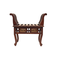 Wooden Side Seater Without Cushion