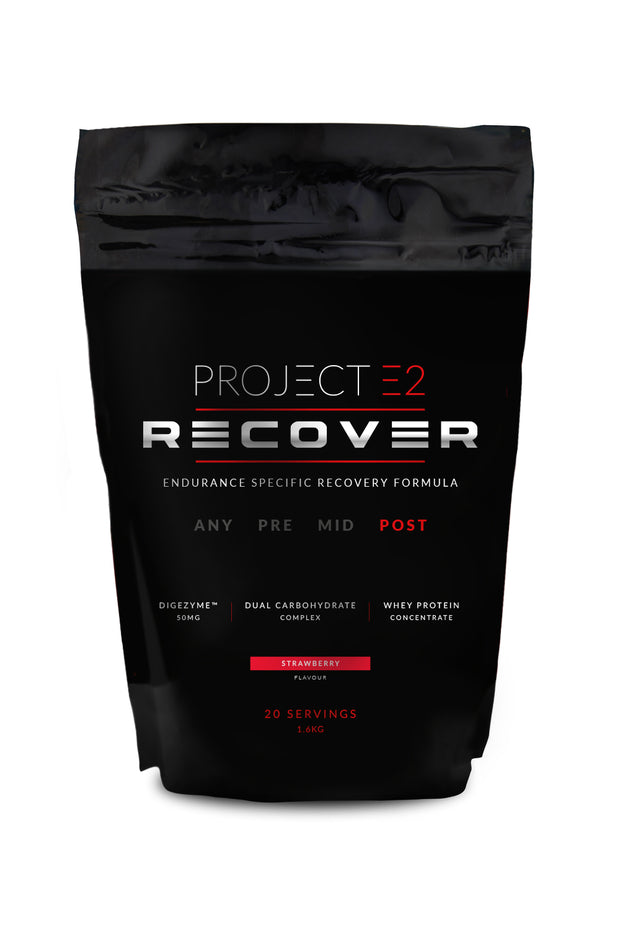 Project E2 Recovery Protein Powder, 1.6kg – Strawberry/Chocolate