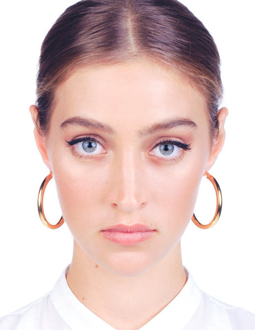 Florence Hoop Earrings - Stile Forma