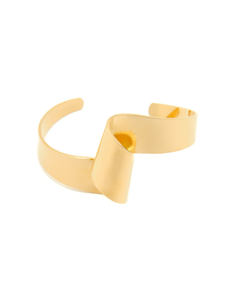 Sofia Twist Cuff Bangle - Stile Forma