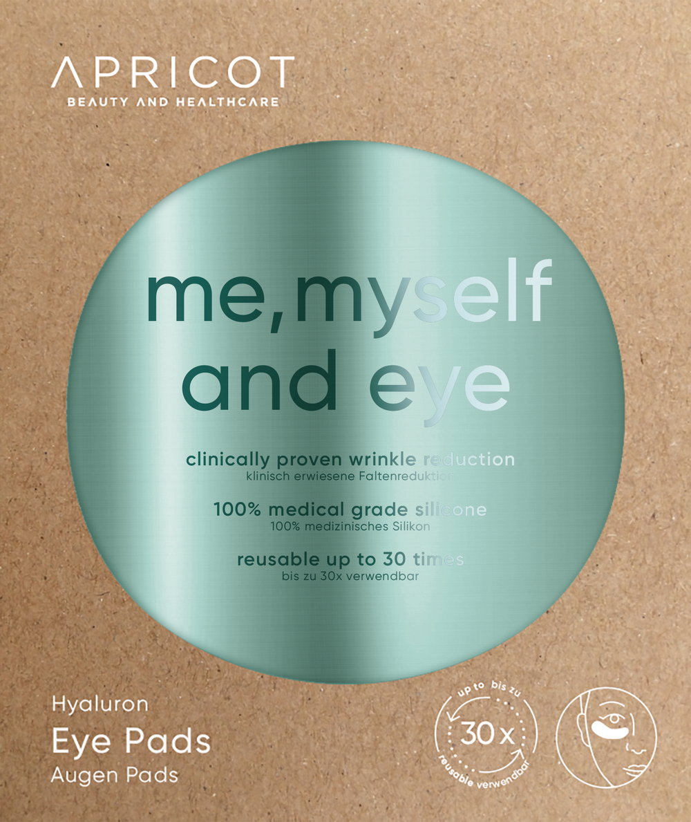 'Me, myself and eye' - Oog Pads Hyaluronzuur - Apricot Beauty