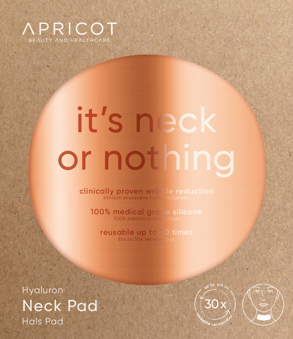 'It's neck or nothing' - Nek Pad Hyaluronzuur - Apricot Beauty