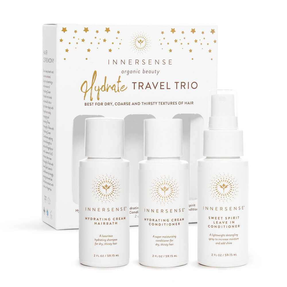 Hydrate travel trio, Innersense Organic Beauty