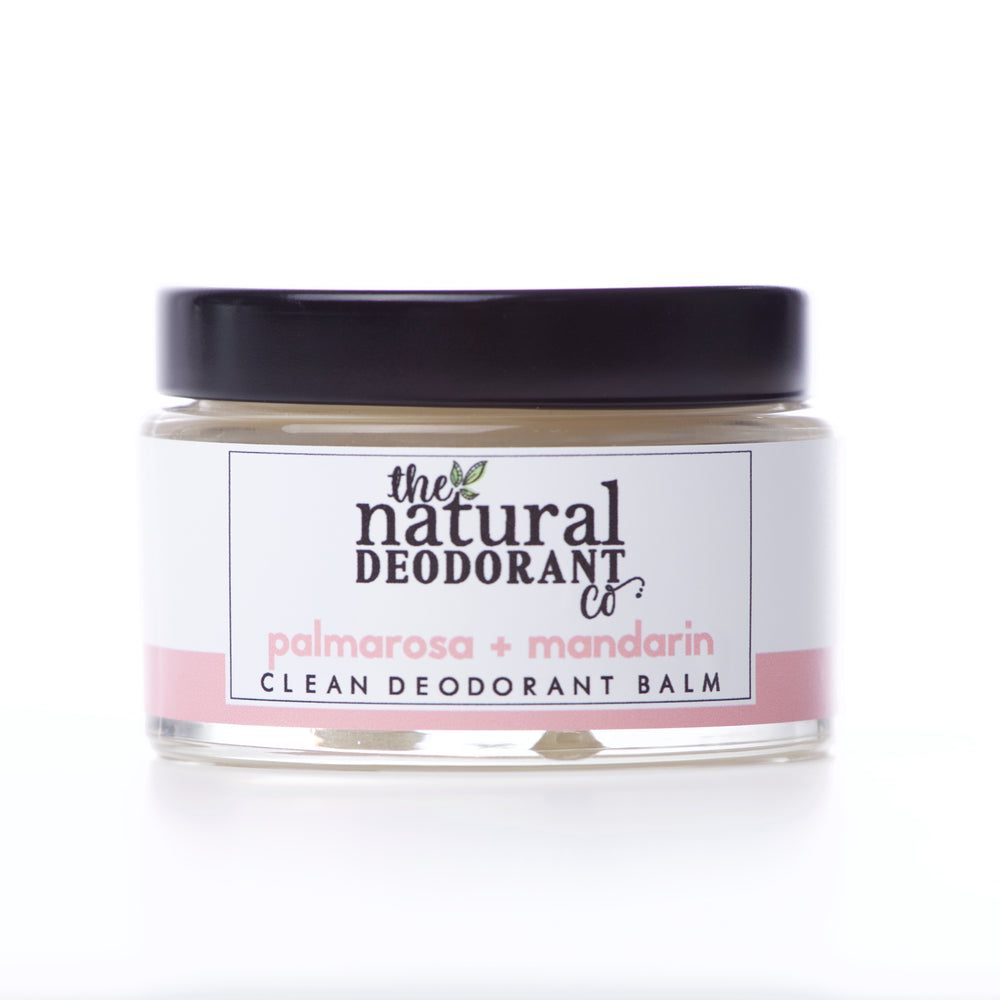 The Natural Deo Co - Clean Deodorantbalsem Palmarosa-Mandarijn