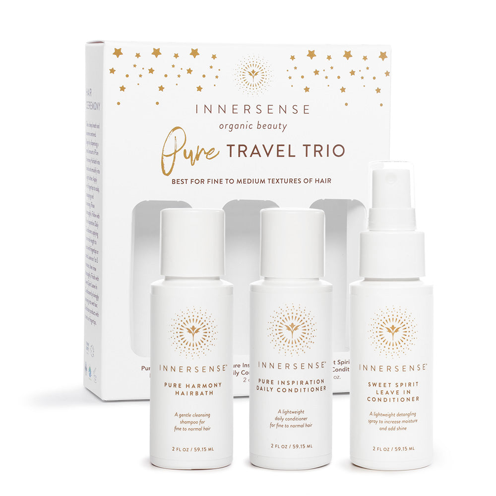 Pure travel trio, Innersense Organic Beauty