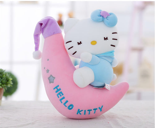 45cm Stuffed Animal Toys Plush Kitty Cat Plush Toy Cute Cartoon Moon Cats Doll Soft Stuffed Pillow Appease Child Gift