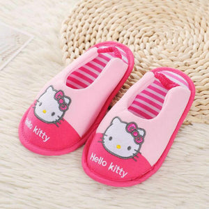 Hello Kitty Girls Slippers Comfortable Cotton Soft