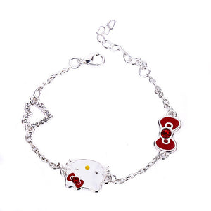 Cute Bracelet Female Korean Fashion Hello Kitty Bracelet Fashion Jewelry Best Gift For Daughter