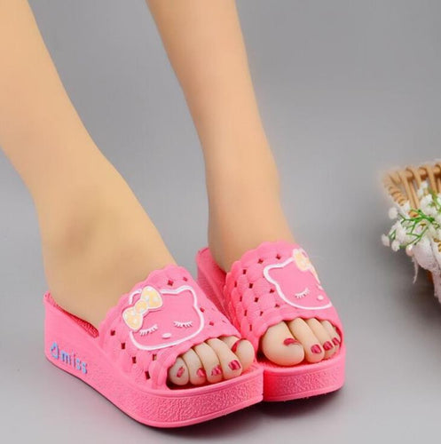 women summer slipper sandals cute animal Slipper
