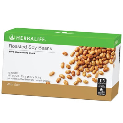 Roasted Soy Beans (12 Packets per box) - Herbalife South Africa - Shop Wellness