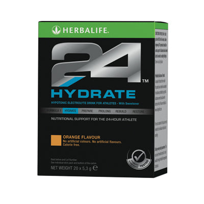 Hydrate - Orange (10 x 5.3g) - Herbalife South Africa - Shop Wellness