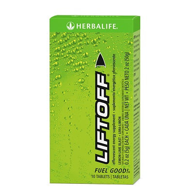 Liftoff (10 Effervescents) - Herbalife South Africa - Shop Wellness