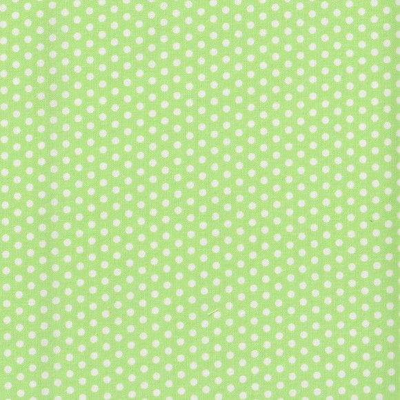 YUWA Basic Small Polly Dots -- Light Green