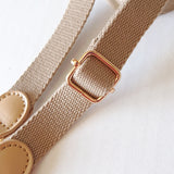 Cross-Body Bag Strap-Beige