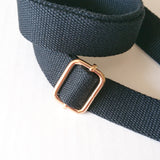 Cross-Body Bag Strap-Black (2.5cm)