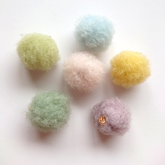 Zipper Charm - Furry Ball Bundle