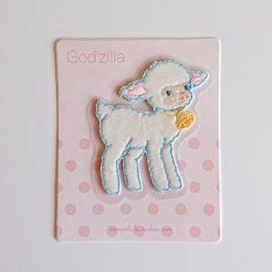 Iron-on Patch-- Little Sheep