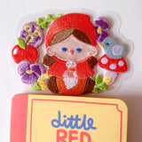 Iron-on/Stick-on Patch-- Little Red Riding Hood