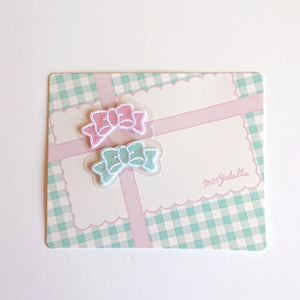 Iron-on Patch-- Little Bows