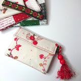 Little Thing Wallet Sewing Kit - Christmas Edition