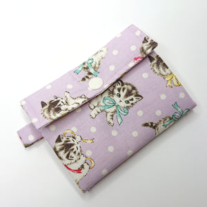 Little Thing Wallet Sewing Kit - (lilac)