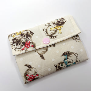 Little Thing Wallet Sewing Kit - (off-white)