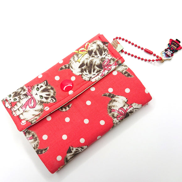 Little Thing Wallet Sewing Kit - (red)