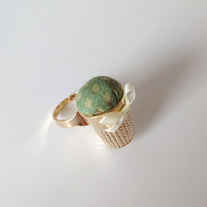 Little House PIn Cushion Ring