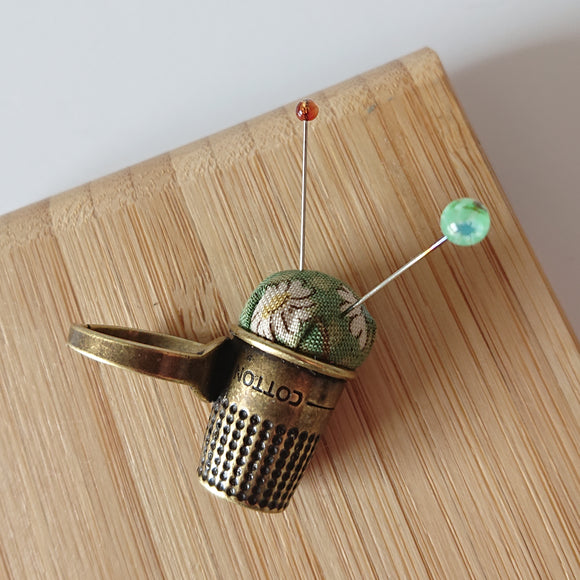 Little House PIn Cushion Ring (Bronze)