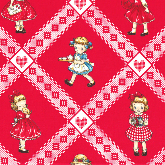 Lattice Margaret (red)
